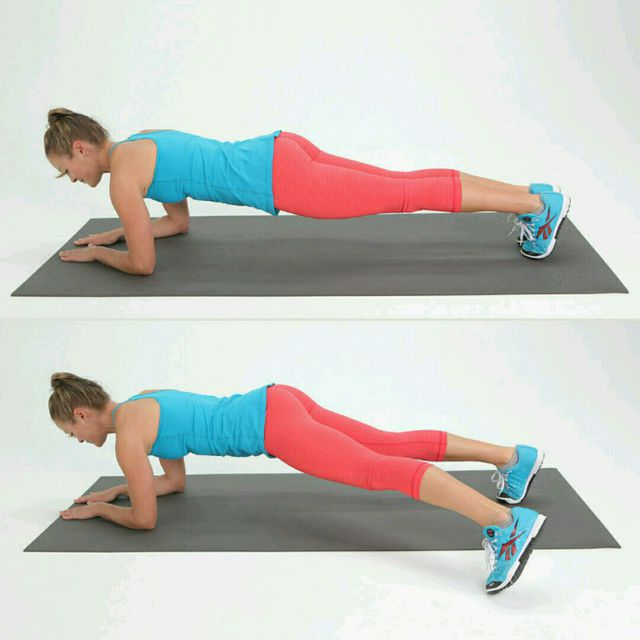 plank jack cardio workout at home